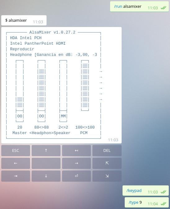 Telegram shell bot · jmendeth